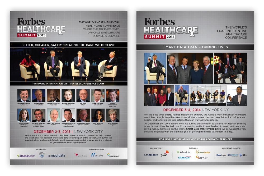 Forbes Healthcare Summit Ads
