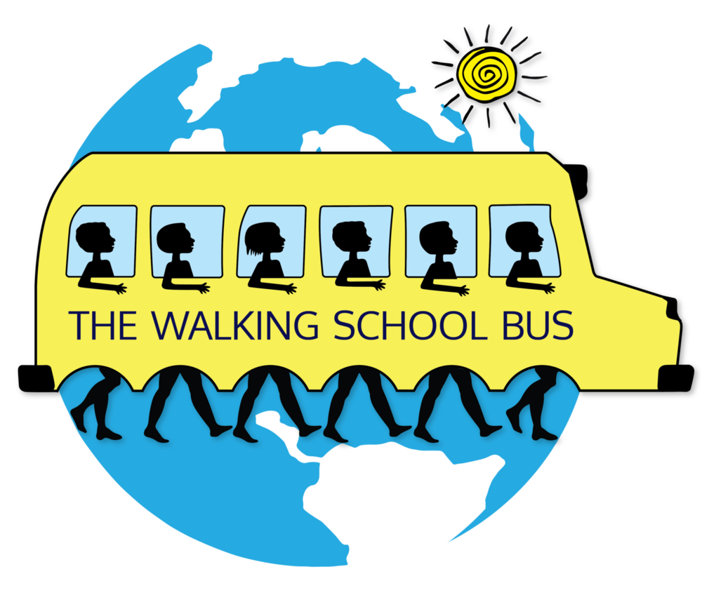 Image result for walking school bus