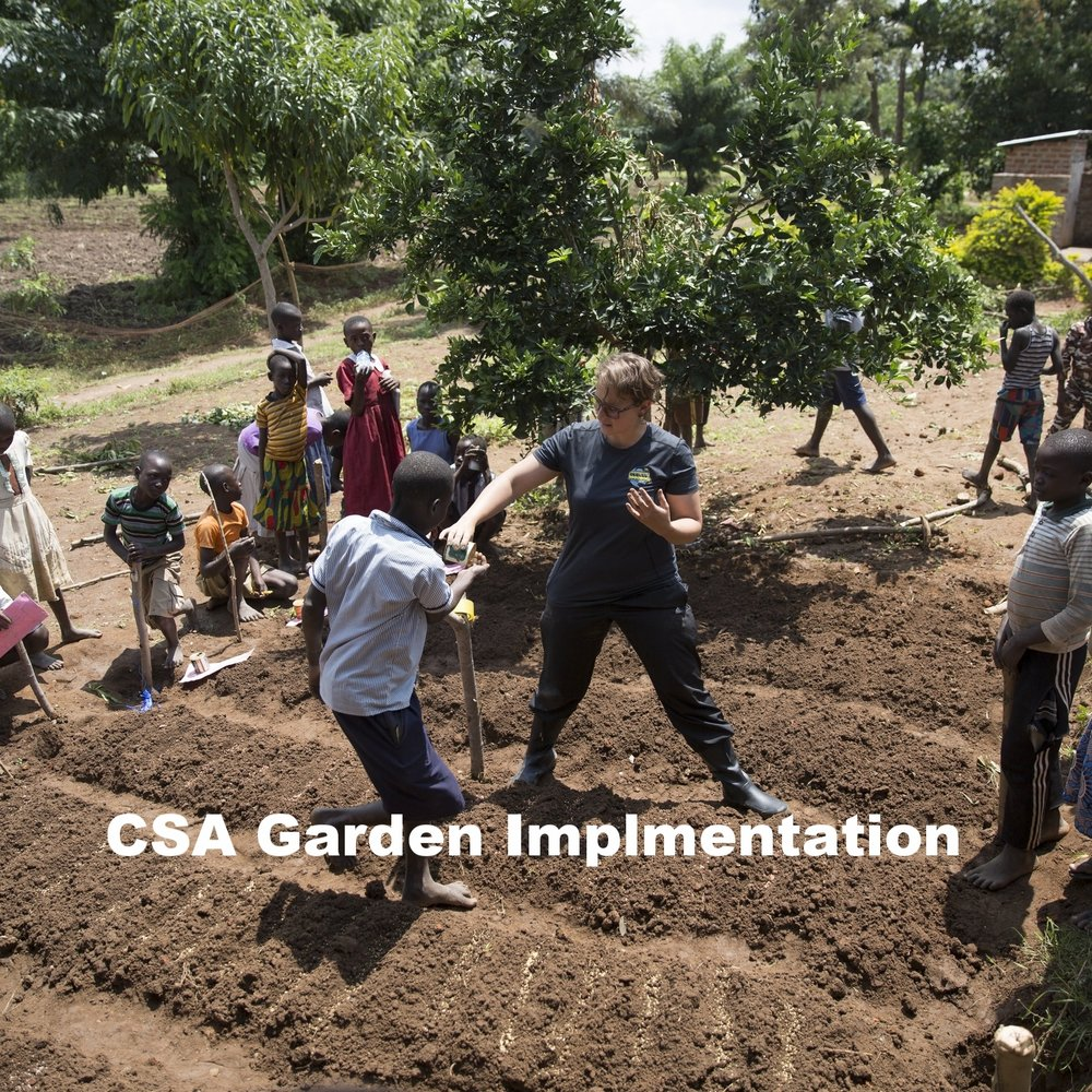 CSA Garden Implementation