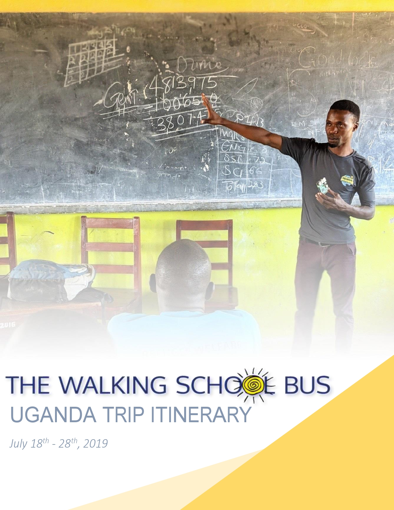 TWSB Uganda Expedition: July 2019 — The Walking School Bus