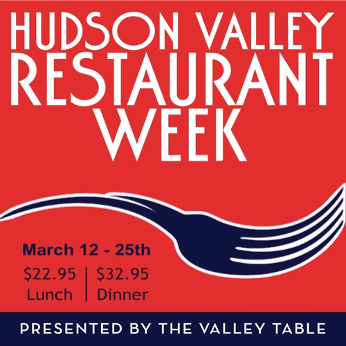 Hudson Valley Restaurant Week 2018