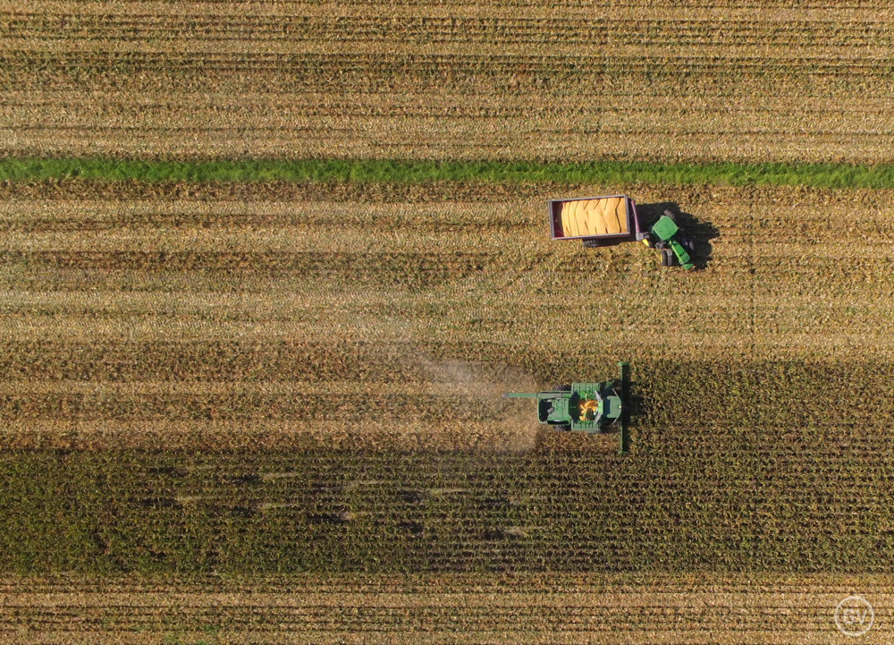 Aerial Farming Photography