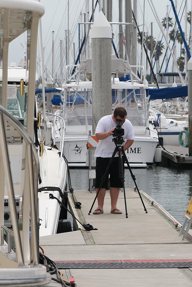 Video Shoot in Dana Point, California