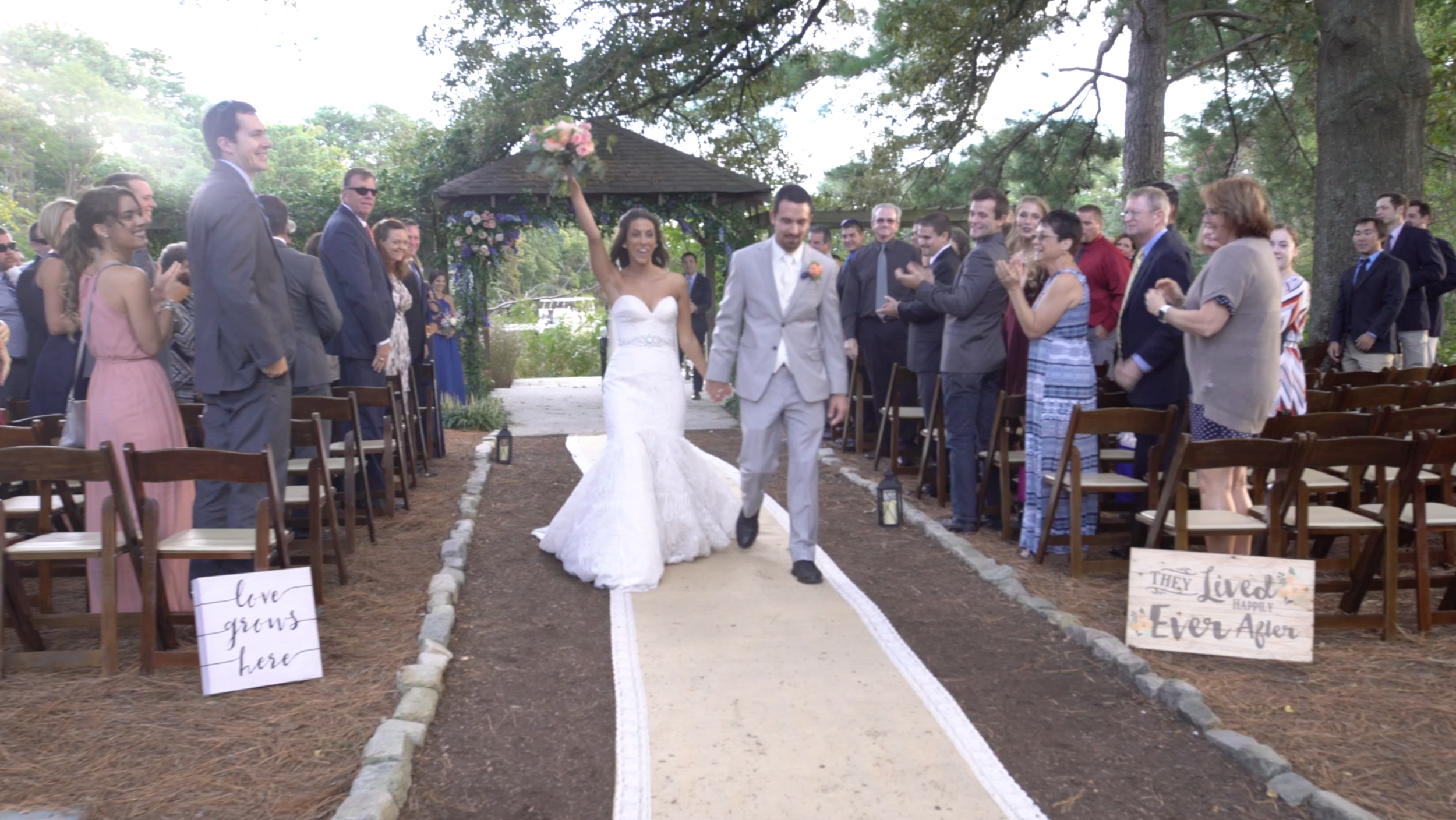 Norfolk Botanical Garden Wedding | Norfolk Wedding Videographer
