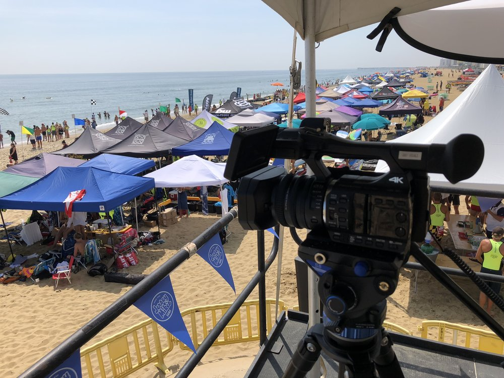 Virginia Beach Oceanfront - US Lifeguard Association TV Coverage