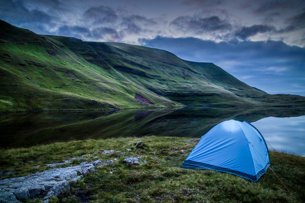 Wild Camping at Llyn Y Fan Fawr