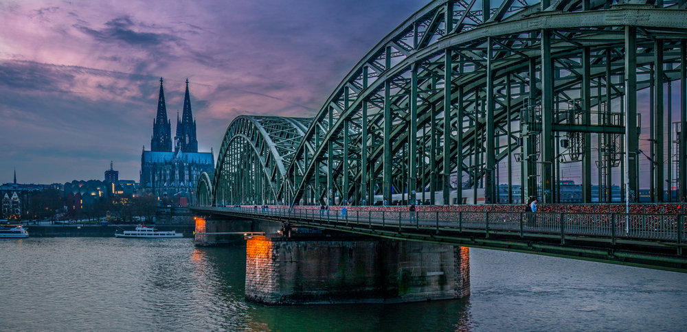 Bridge over the River Rhine, Köln