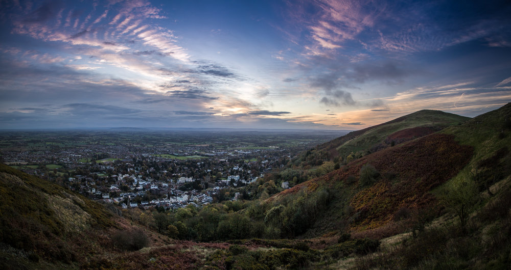 Great Malvern at Sunrise