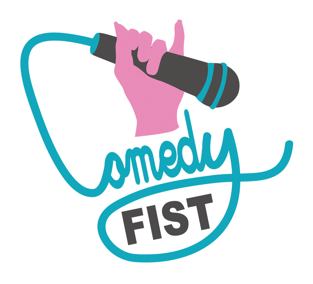 Comedy Fist Logo - Adobe Illustrator