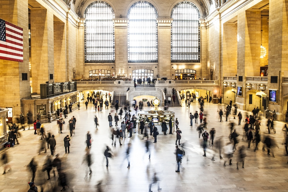 Grand Central Station. I visited last year. This isn't my picture but it's pretty cool right?