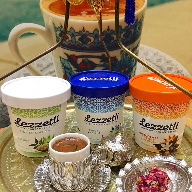 🚨Attention fans in DC: you can now get Lezzetli at @turkishcoffeelady 's new location at @shoptysons in Northern VA! Pick a friend and share a pint 🥄🥄with your Turkish coffee.