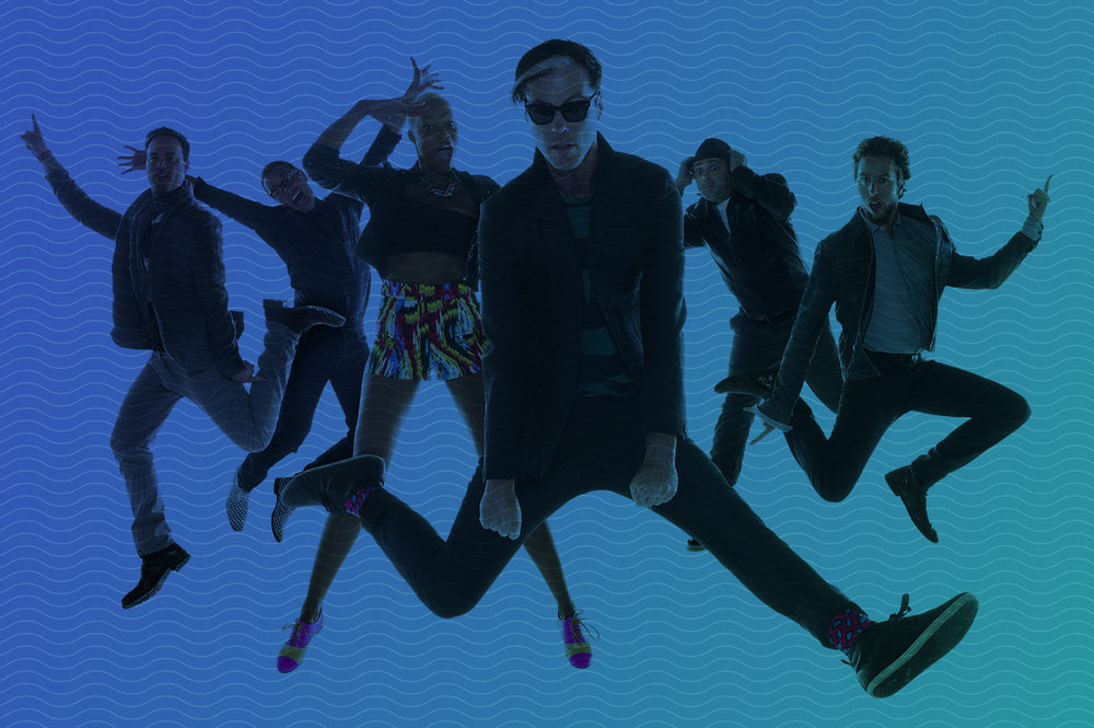 Fitz and the Tantrums perform at Summerfest in Milwaukee on June 26.
