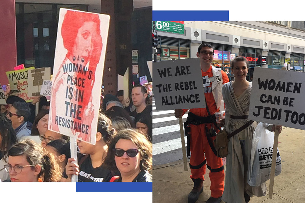 Star Wars  inspired its own language and imagery of the resistance.