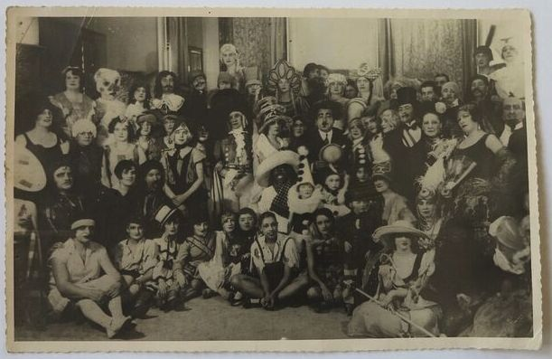 Boris Lipnitzki, Paris,  St Catherine's Day at Maison Paul Poiret, 25 November 1925,  19 x 29 cm, Kahan Family Collection.