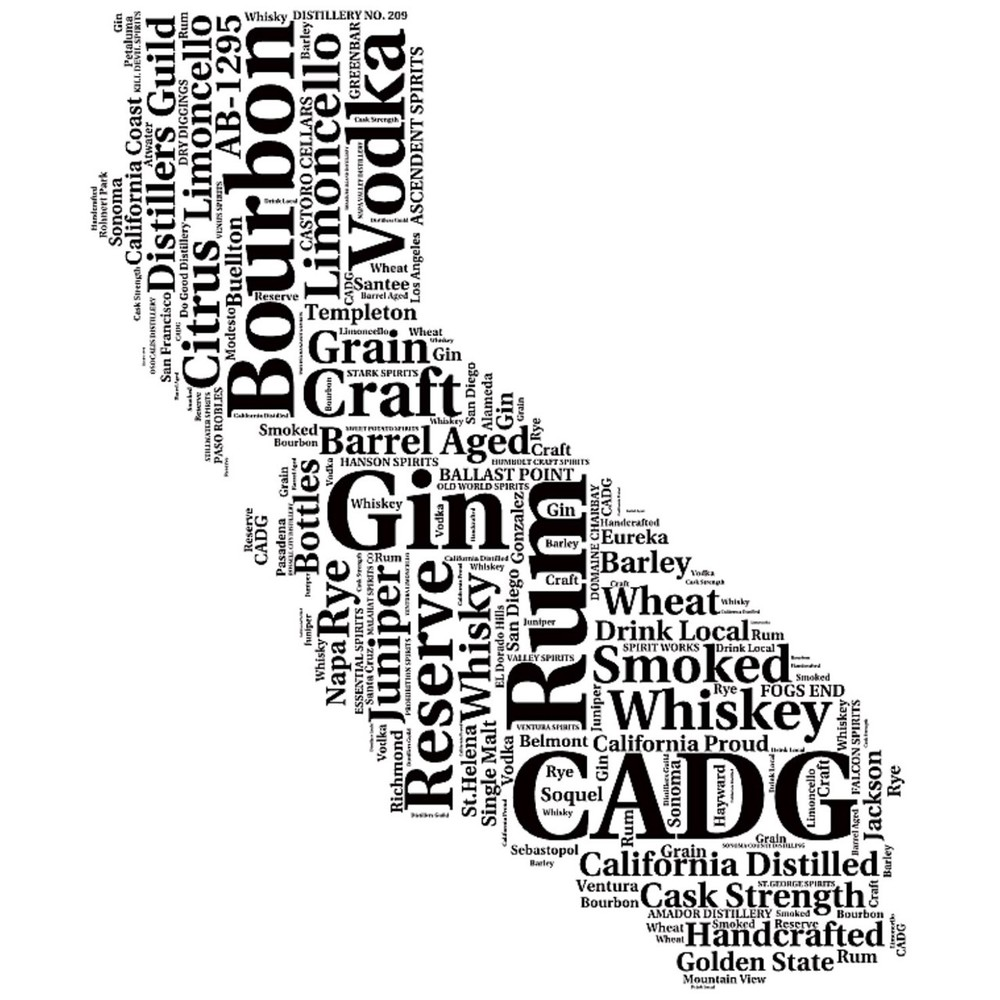 We handcraft spirits from all over the state.
