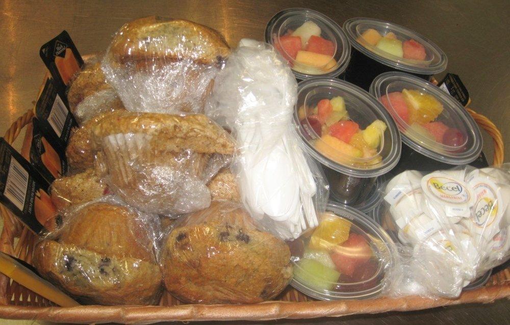 Muffin & Fruit Basket