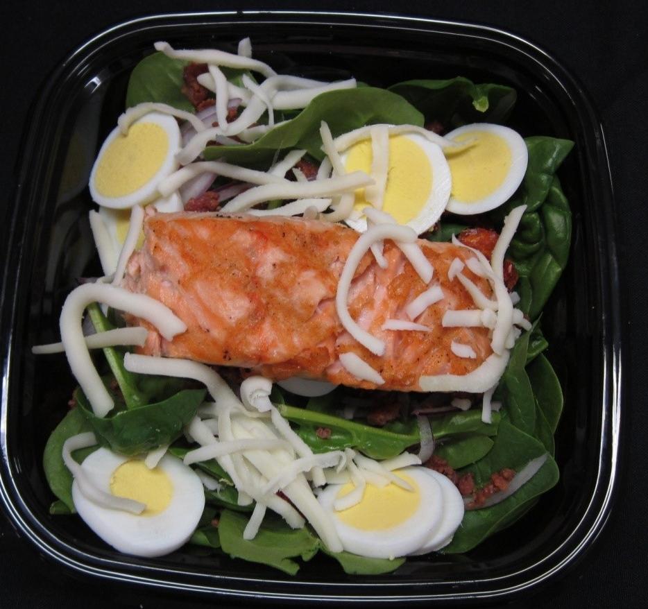 Pan Roasted Salmon & salad