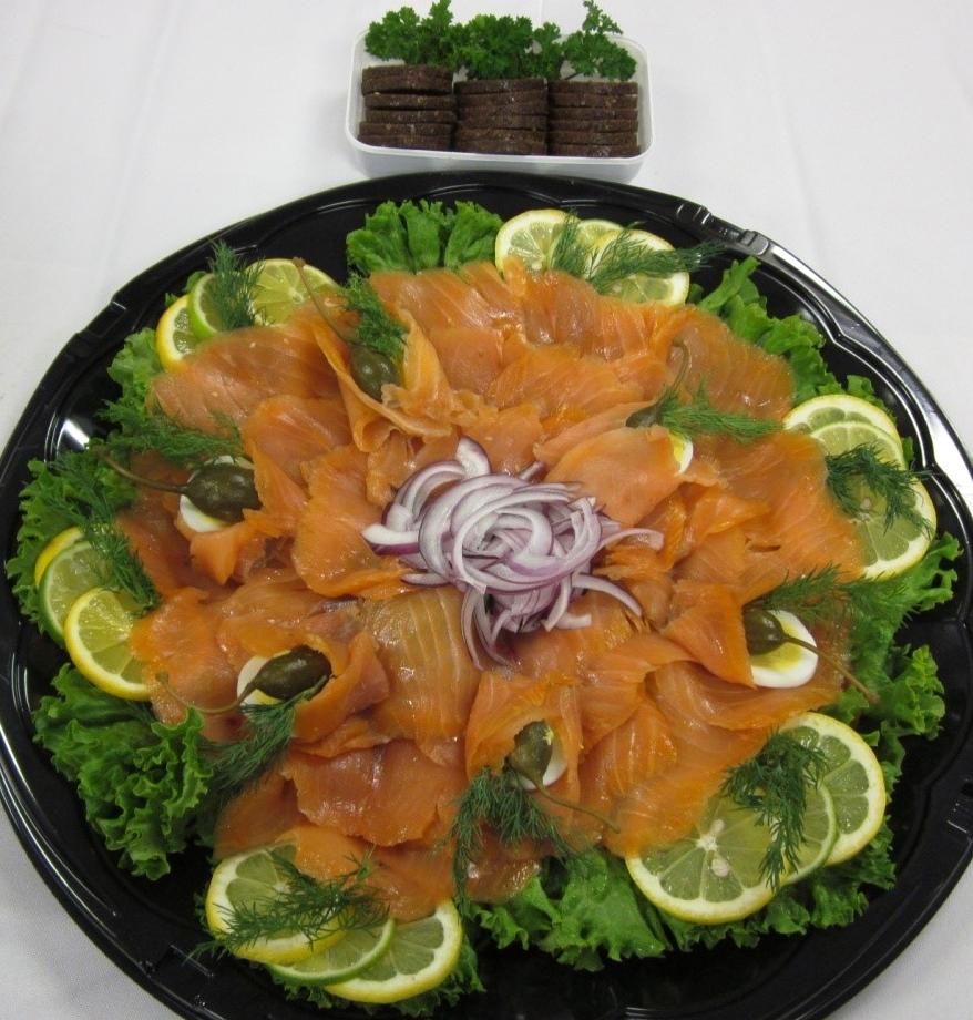 Smoked Salmon Tray