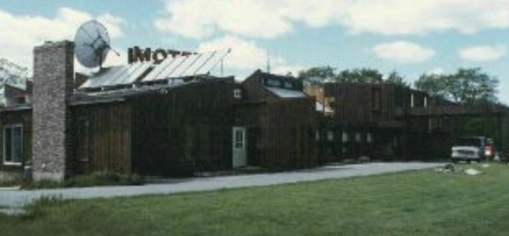 Front of the Inn 1986