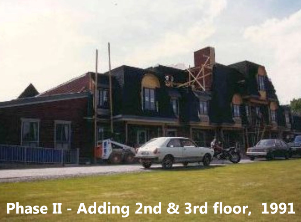 Phase II Adding 2nd & #rd floor, 1991.PNG