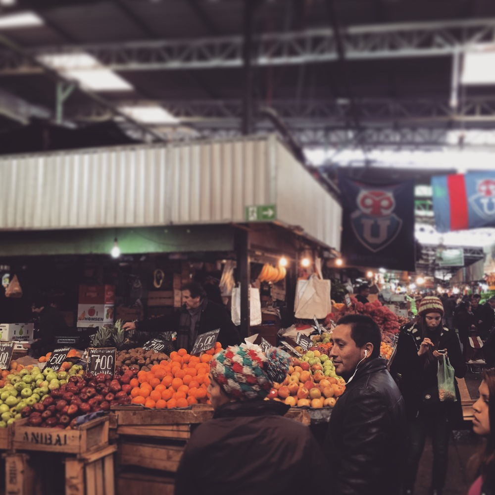 The freshest fruit, veggies, meat, and seafood in Santiago. And much cheaper than the supermarket.