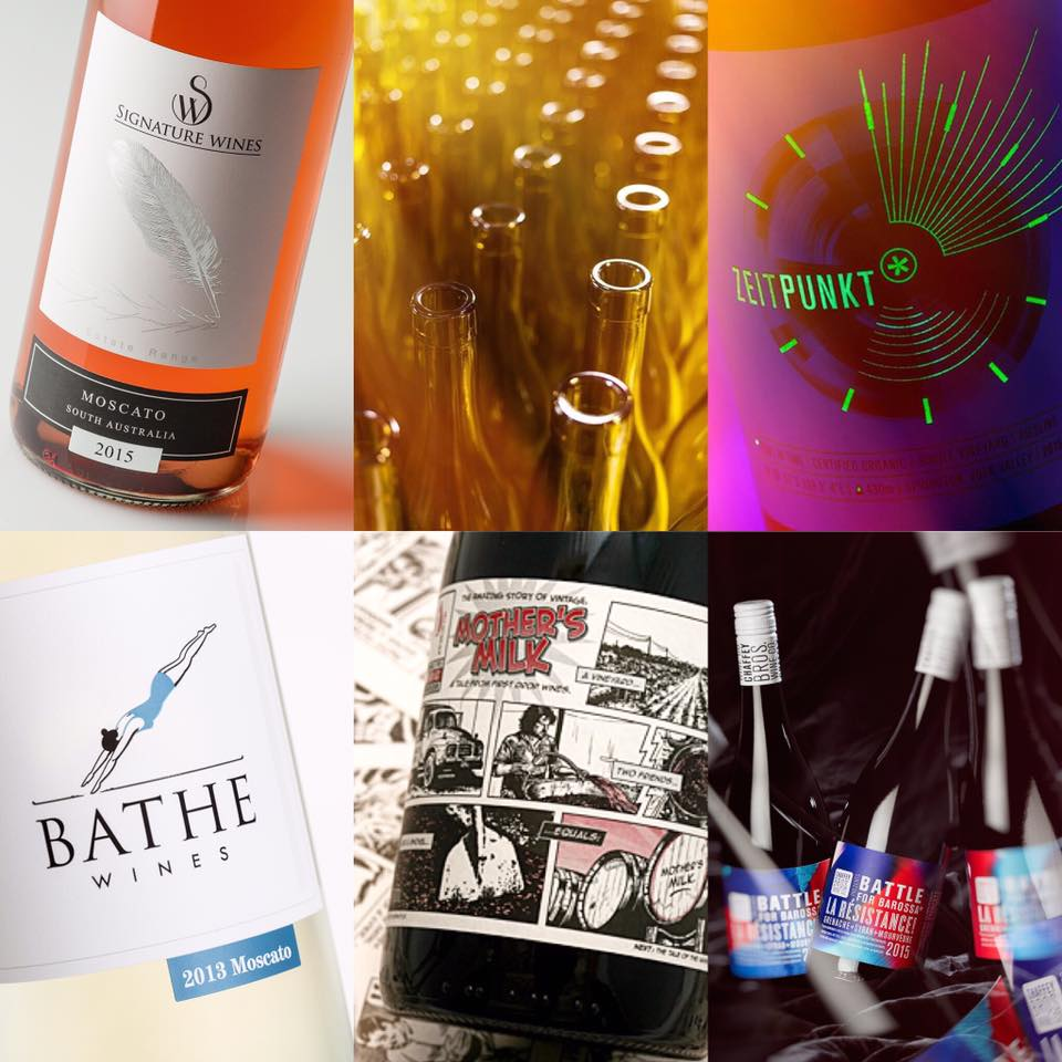 Some of the many unique wine images we have crafted for our clients.
