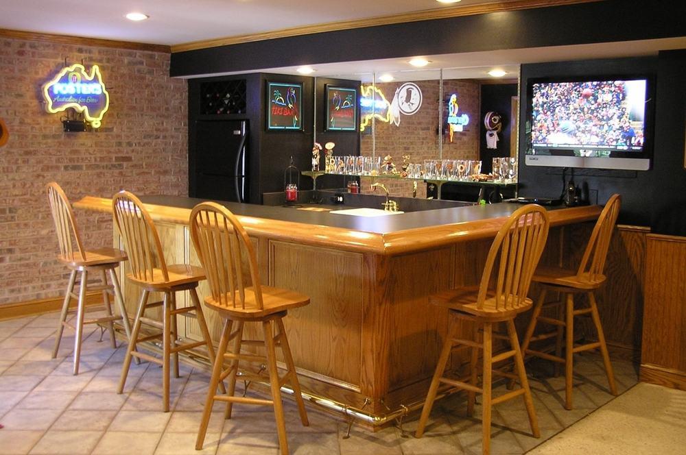 Basement wet bar, frederick md