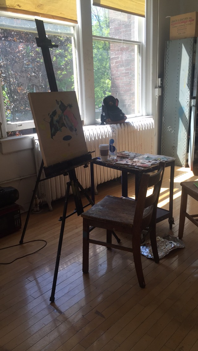 Temporary Studio Space May 2015