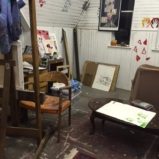 Studio Space January 2014 - May 2015