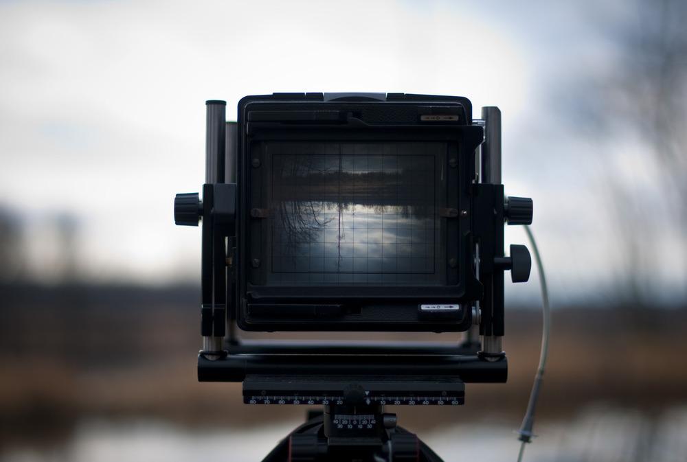 Linhof 4x5 Camera