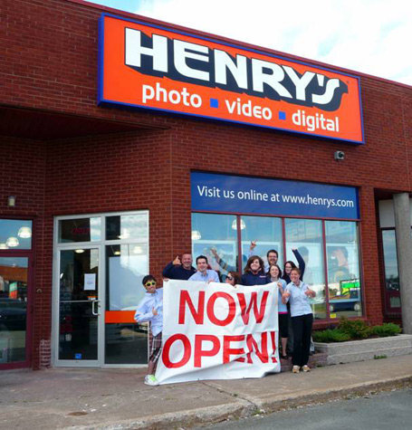 Opening of the Henry's store in St. John's, Newfoundland in the Fall of 2010.