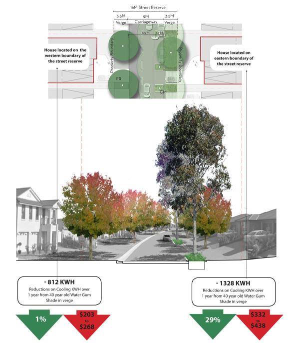 Benefits of street trees