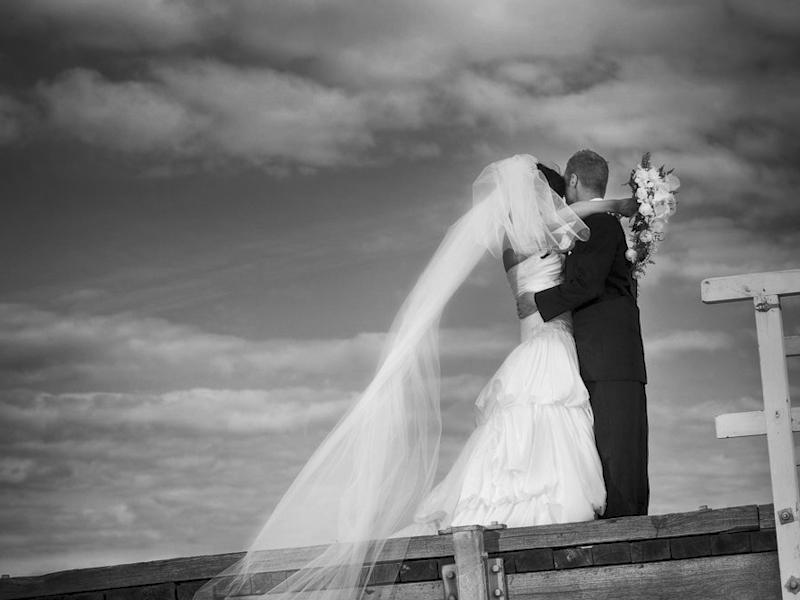 Melbourne Beach wedding photo