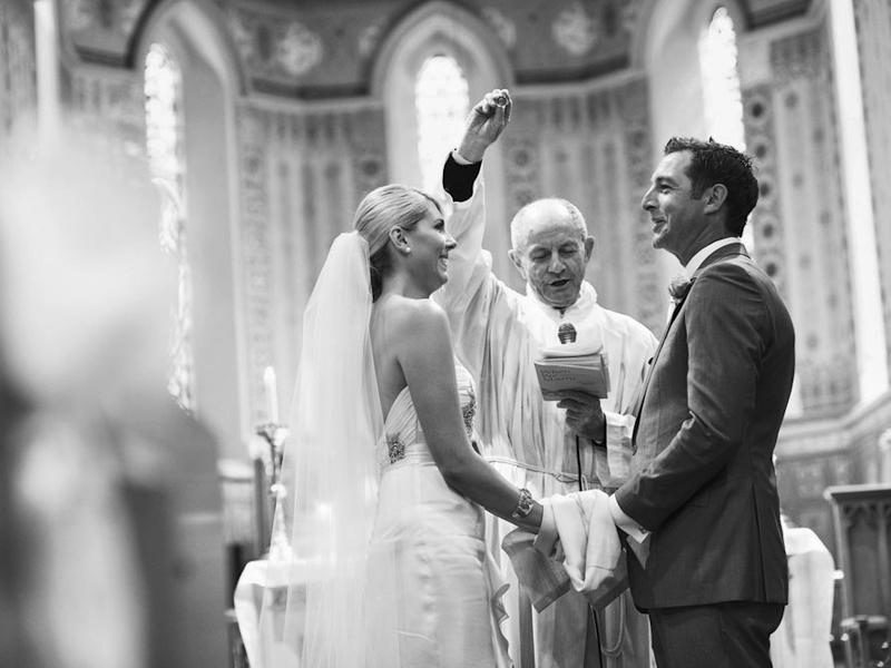 Church wedding in Melbourne