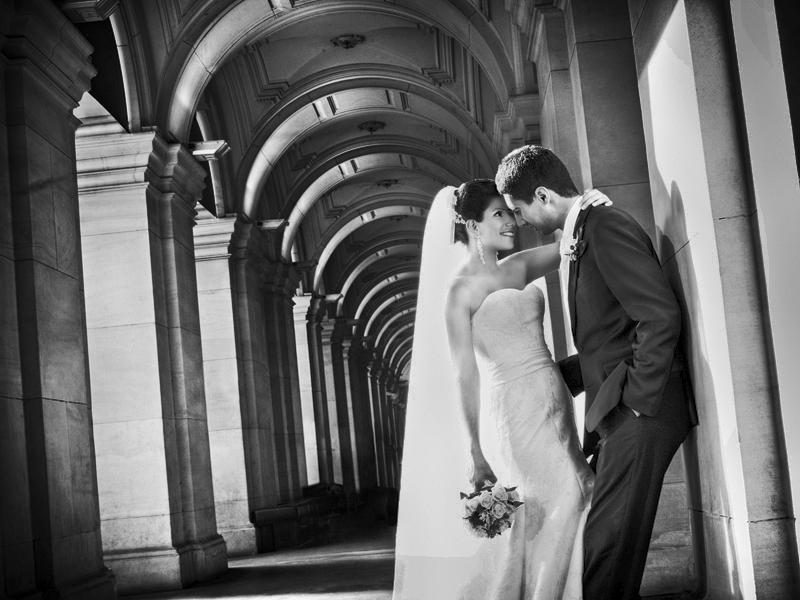 Wedding photo at GPO Melbourne