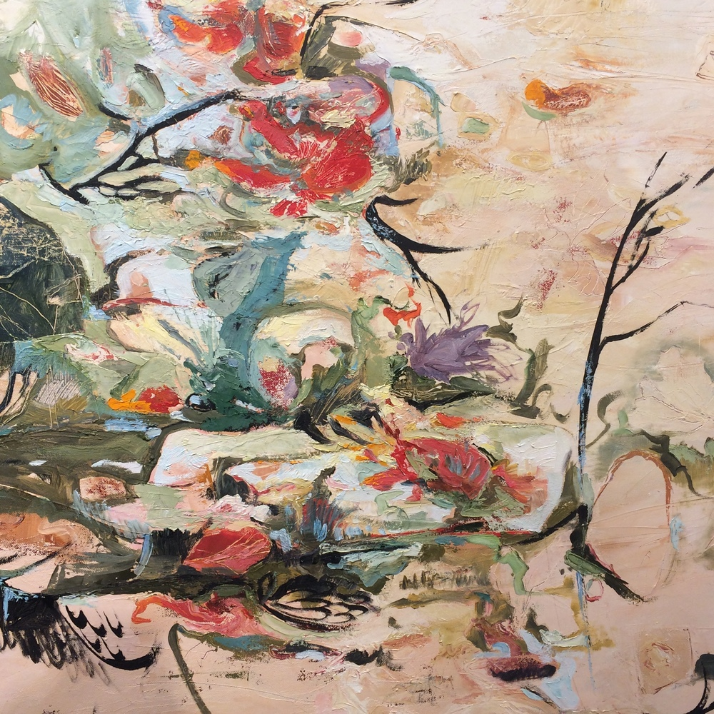 Naked Garden by Molly Murphy Oil on Canvas $7200