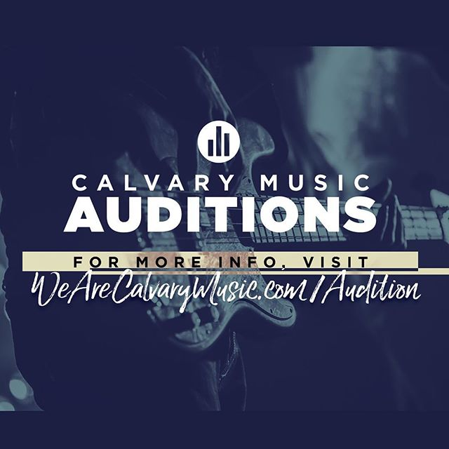 Want to be a part of the worship ministry? Check out the new audition process we have at each campus! For more info click the link in our bio!