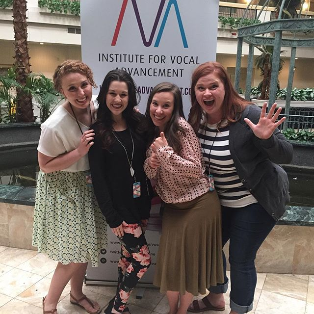 My fantastic roommates for the week! #vocaladvancement #ivacon2016 #mlsadventures