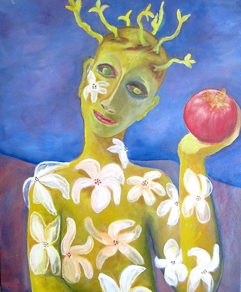 "Promise of Fresh Fruit         Oil on Canvas                         20"" x 24""                                   $795.00                                        2015"