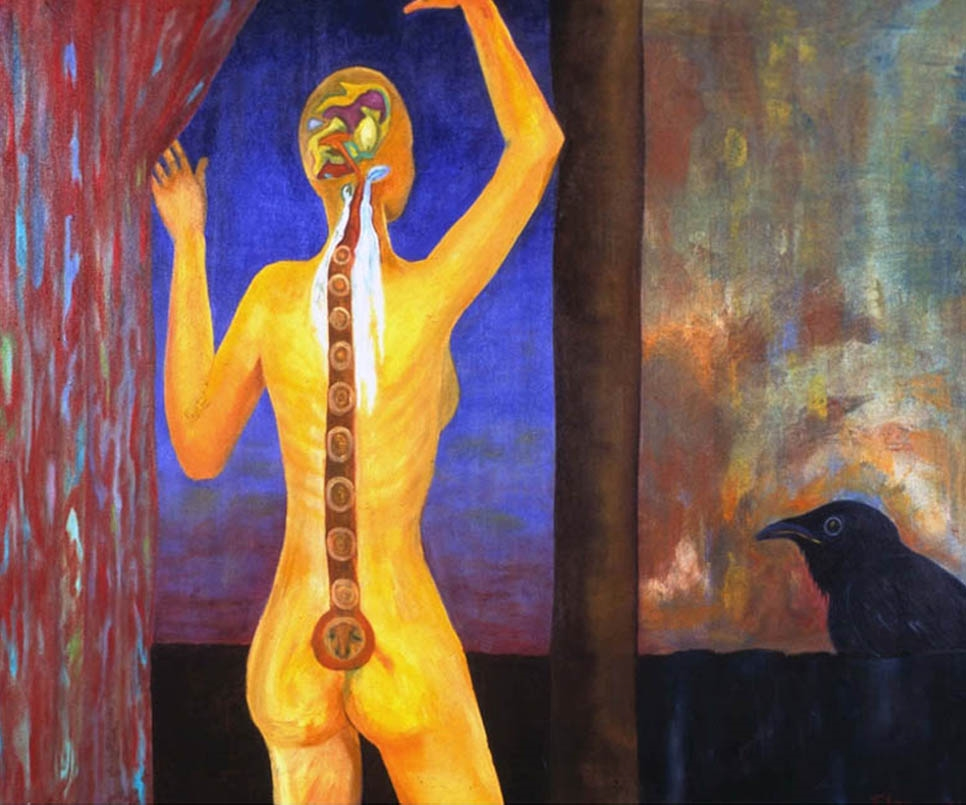 "Ancient Walls                          Oil on Canvas                               30"" x 36""                                  $1500.00                                     2005"