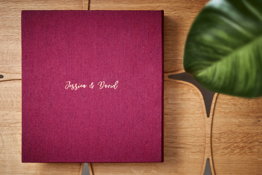 Wedding album by Blue Mountains wedding photographer Joshua Witheford