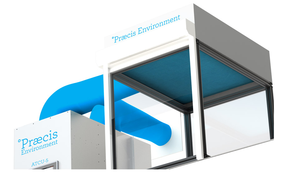Praecis Environment-5 Complete System.     Performance Demonstrator. View 3.