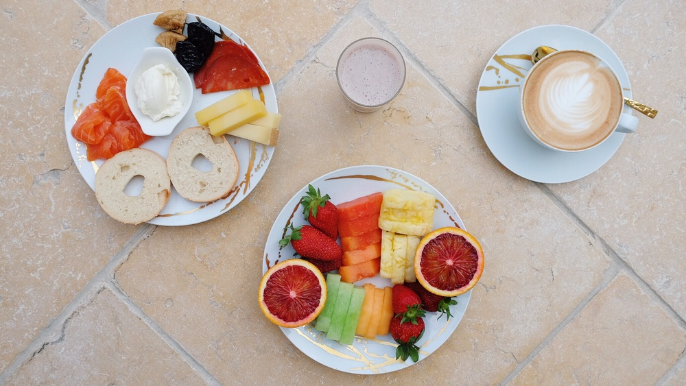 Full Breakfast at The Four Seasons in Dubai by The Blonde Vagabond.JPG