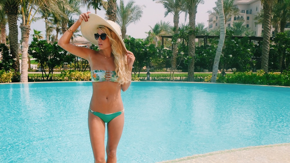 San Lorenzo Bikini at Four Seasons Jumeriah by The Blonde Vagabond.JPG