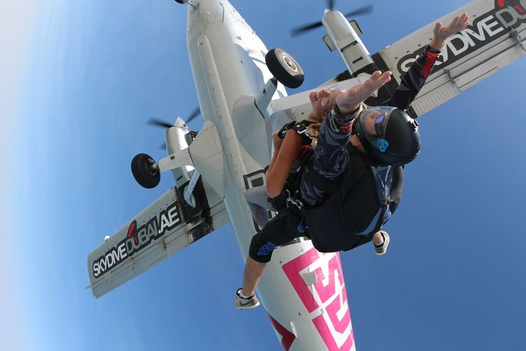 Skydiving in Dubai by The Blonde Vagabond.JPG