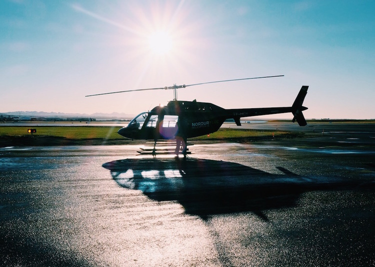 Helicopter in Iceland by The Blonde Vagabond.JPG