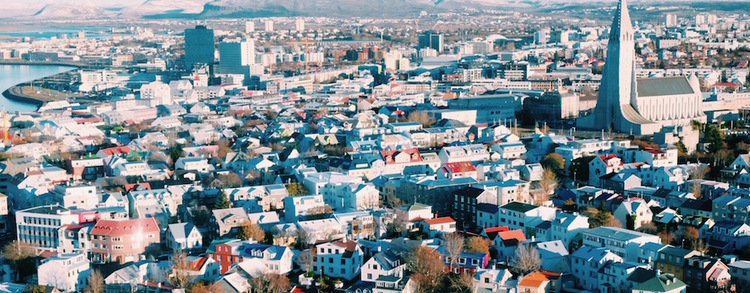 Downtown Reykjavik by The Blonde Vagabond.JPG
