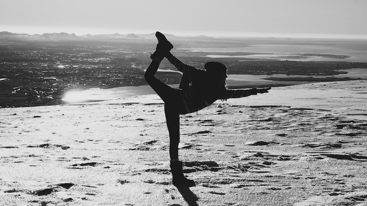 Yoga in Iceland by The Blonde Vagabond.JPG
