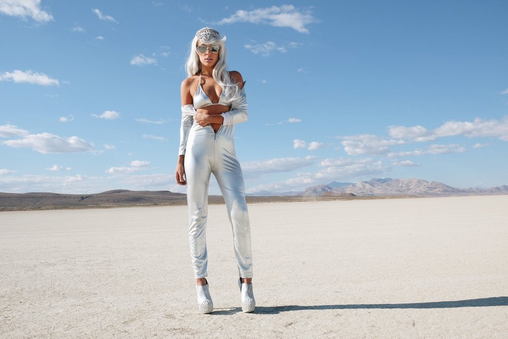 Futuristic Burning Man Outfit by The Blonde Vagabond.JPG