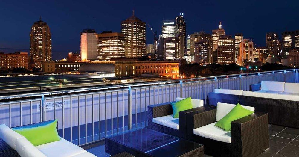 Bounce Hostel  Rooftop Lounge